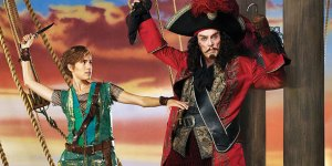 "Allison Williams as Peter Pan and Christopher Walken as Captain Hook in ""Peter Pan Live!"" — the most hate-watched show of the holiday."