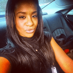 An Instagram photo of Bobbi Kristina Brown posted on Christmas 2014.