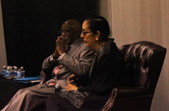 Panelists James Ferguson and Lani Guinier