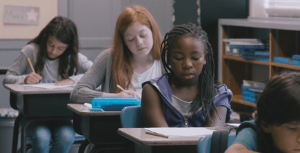 """Amelia's Closet"" is a coming of age short film about an 11-year-old girl who is bullied at school. It is part of HBO's short film competition."