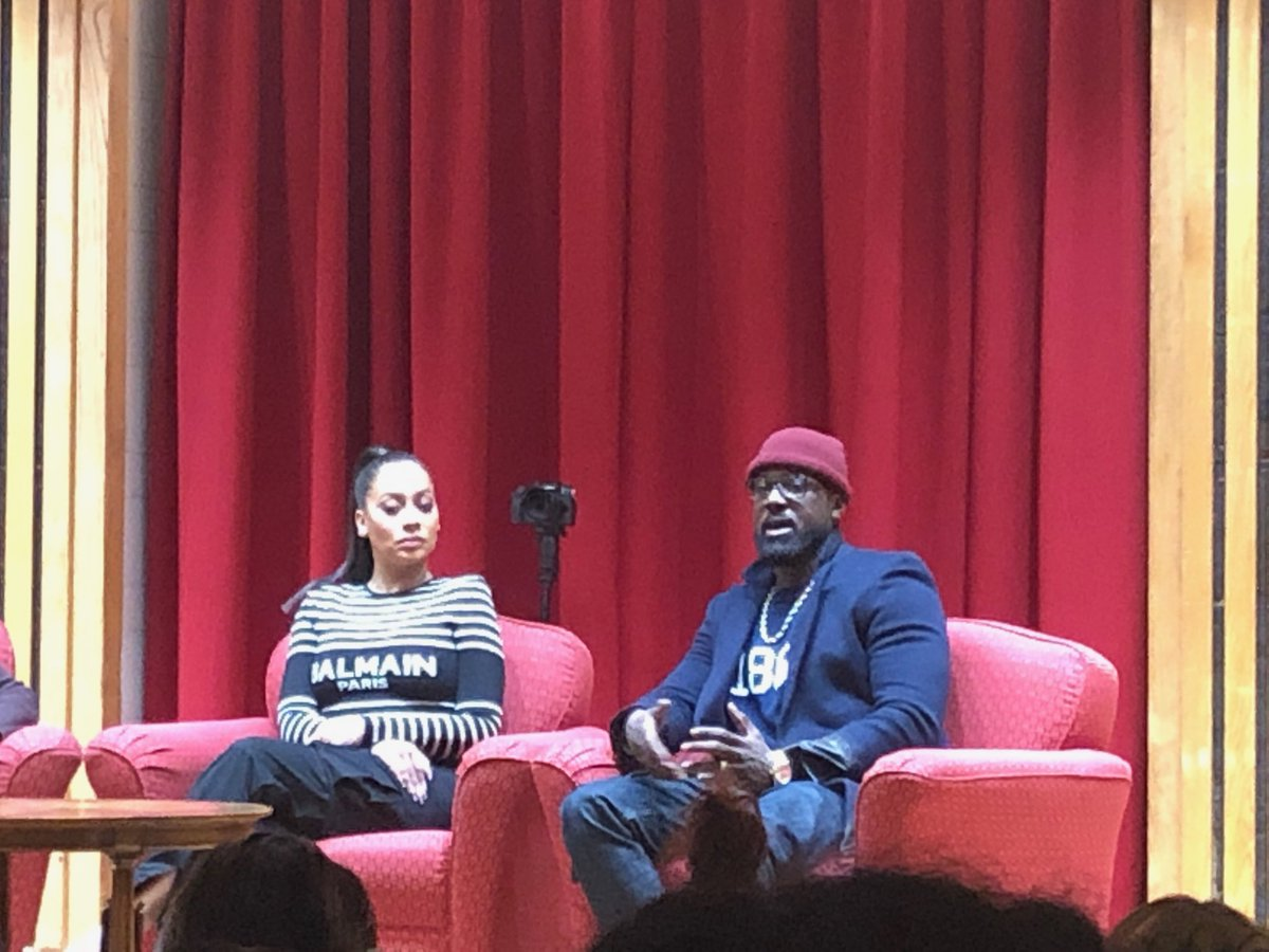 La La Anthony and Lance Gross Teach Students About Life After College