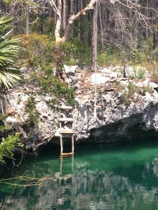 You can swim in the blue hole... YES PLEASE!