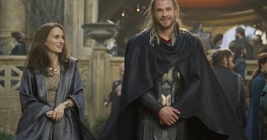 Thor Dark World-Jane and Thor