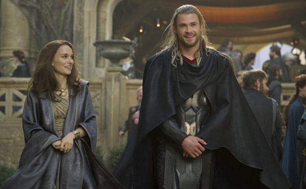 Thor Dark World-Jane and Thor