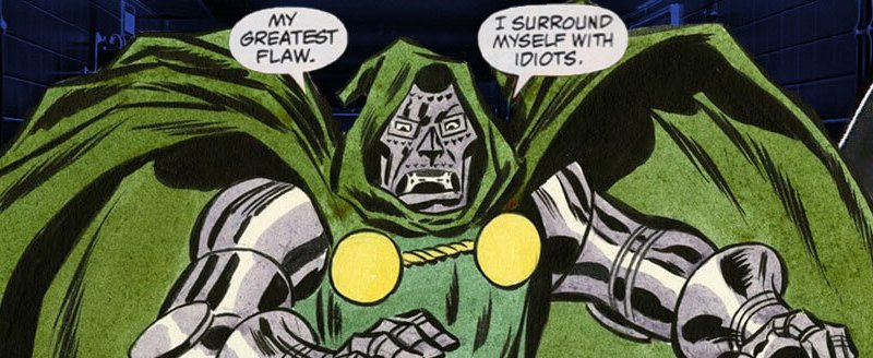 Why can't FOX get Doctor Doom right?