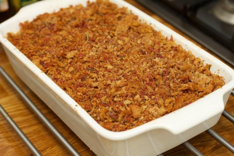Macaroni met bloemkool en kaas schotel 33