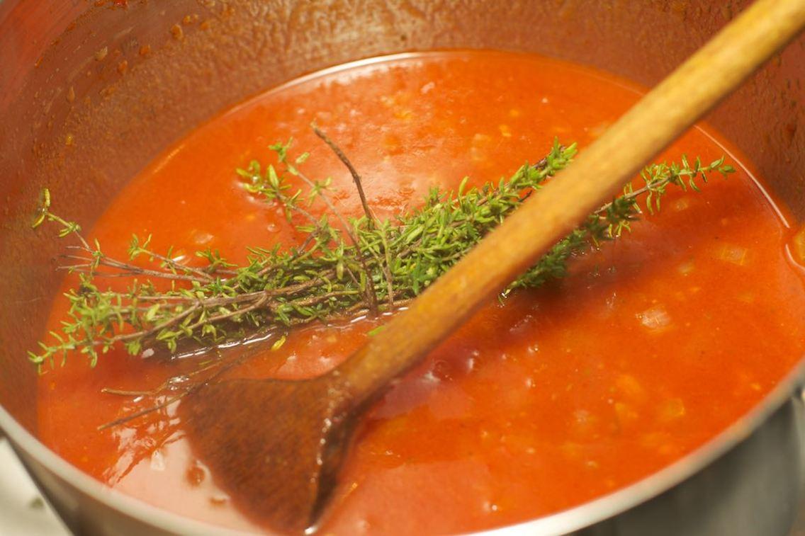 Pasta met tomatensaus 17