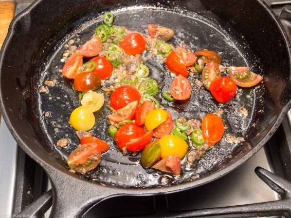 Pasta met boerenkool, peper en mascarpone-30
