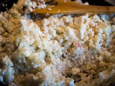 Risotto met bloemkool en knapperige Parmaham-19