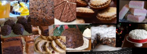Christmas Collage Baking