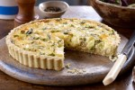 Crab and Camembert Tart
