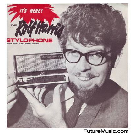 Rolf Harris and the Stylophone