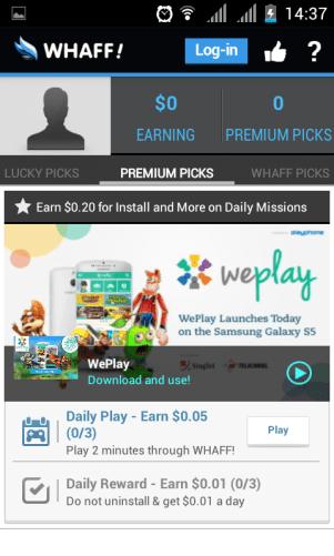 premium pick cara mendapat uang lewat whaff {focus_keyword} Cara Daftar Whaff Reward dan Mudah Mendapatkan Uang ( Kode AF06332) screenshot 2014 10 03 14 37 27