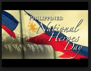 Essay about national heroes day