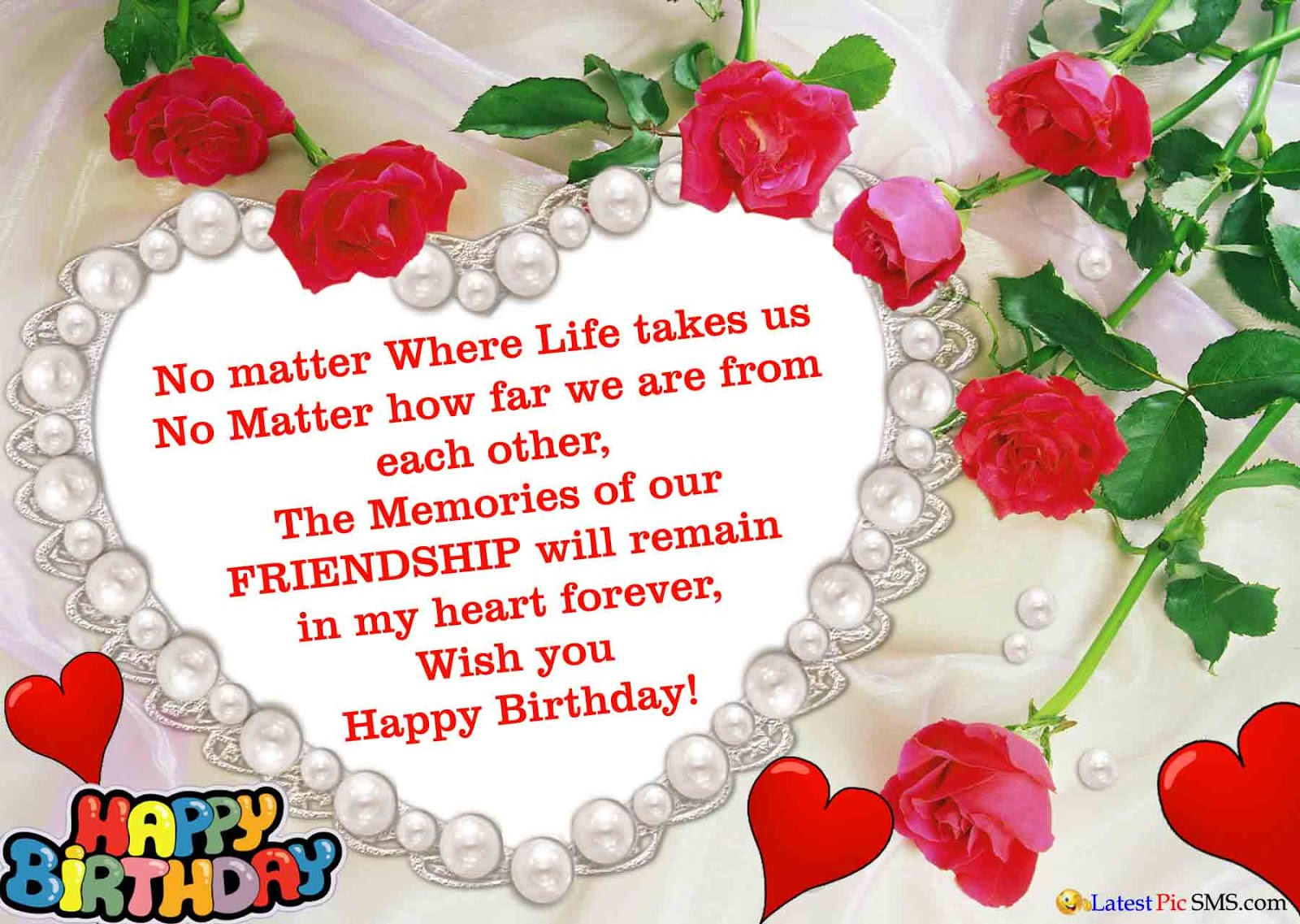 Birthday Wishes For Best Friend In English Images ~ Best happy birthday wishes images with quotes