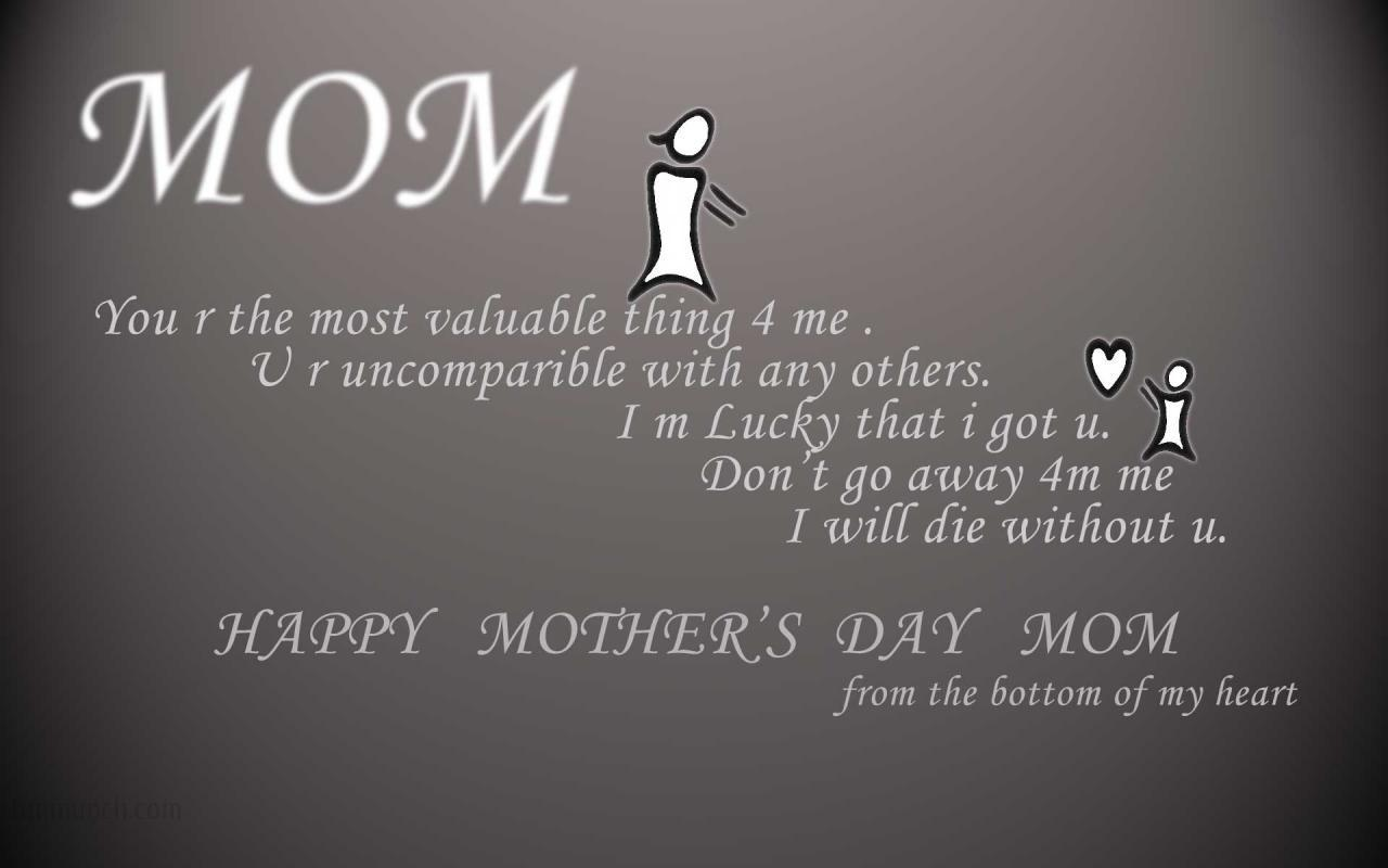 Mother Love Quotes Wallpaper : Best Mothers day wishes, images with quotes and wallpapers for mother - Best Greetings Quotes 2016