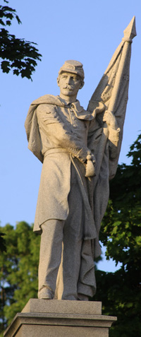 Civil War Monument, Greeniwch NY