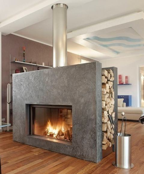 common problems that can be encountered with a double sided fireplace