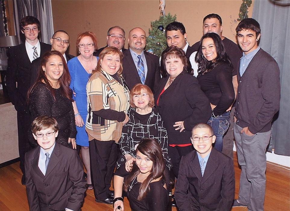 Ubides family St Teresa Parish Chicago