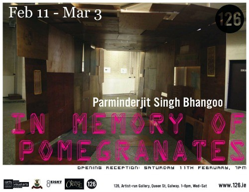 In Memory of Pomegranates – Parminderjit Singh Bhangoo