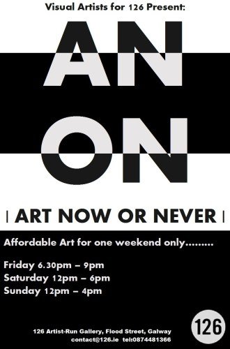 This Weekend | ANON | Opens Friday 6.30pm