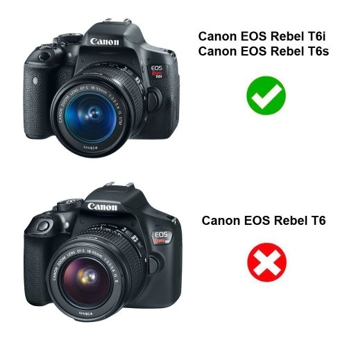 Medium Crop Of Canon Eos Rebel T6 Vs T6i