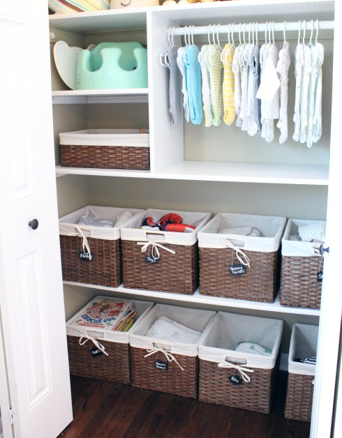 Nursery Closet Revised