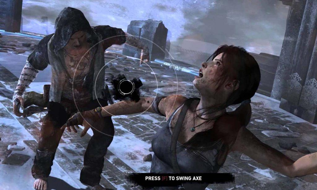 Quicktime Events were abundant in Tomb Raider (2013)