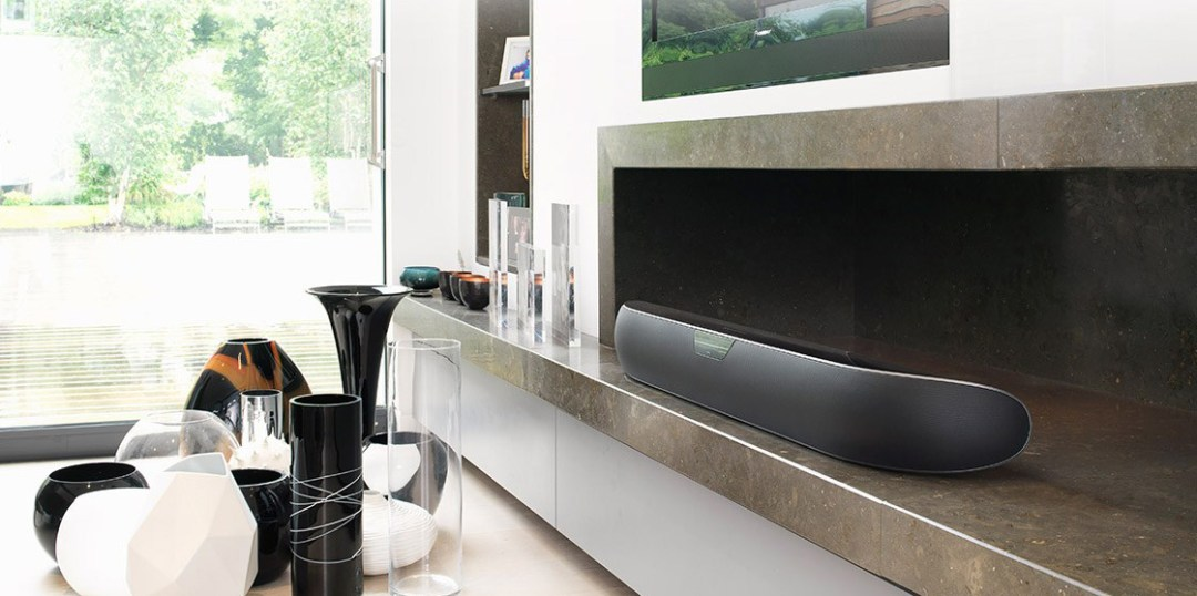 Your television never sounded so good with Bowers and Wilkins speakers.