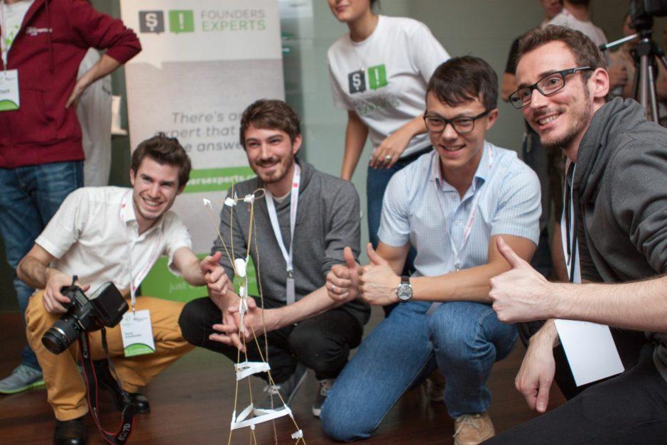 Startup Live Spagetti challenge
