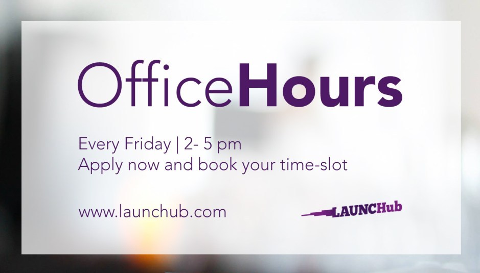 launch HUb office hours
