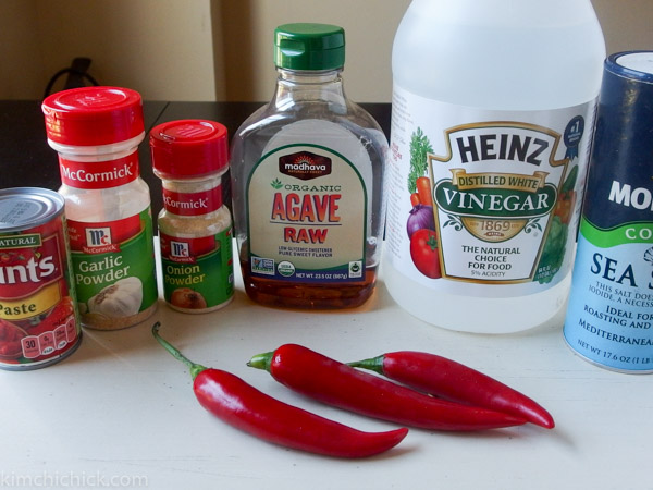 you only need a few simple pantry ingredients (plus the peppers!) to make this awesome ketchup