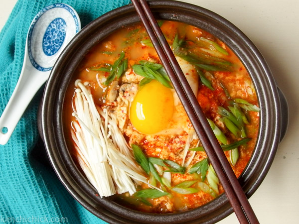 Follow this easy recipe to make this delicious Korean spicy tofu stew (Sundubu)!