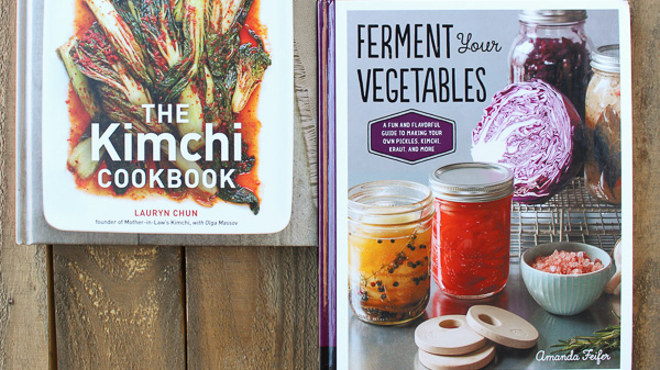 Books to nerd out on kimchi and Fermentation