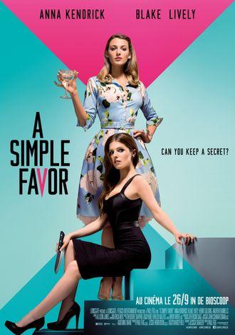 A Simple Favor | movie 2018 | Paul Feig - Cinenews.be