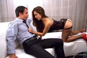 Yurizan Beltran takes hard cock balls-deep in her juicy pussy
