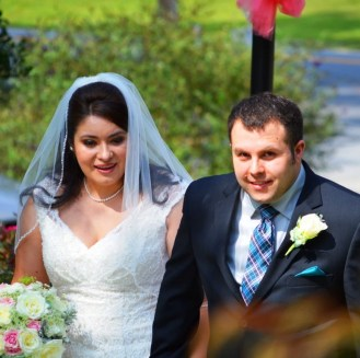 Congratulations Chris and Rosemary!