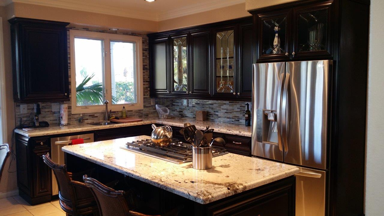 cabinet refacing kitchen cabinet remodel After kitchen cabinet refacing