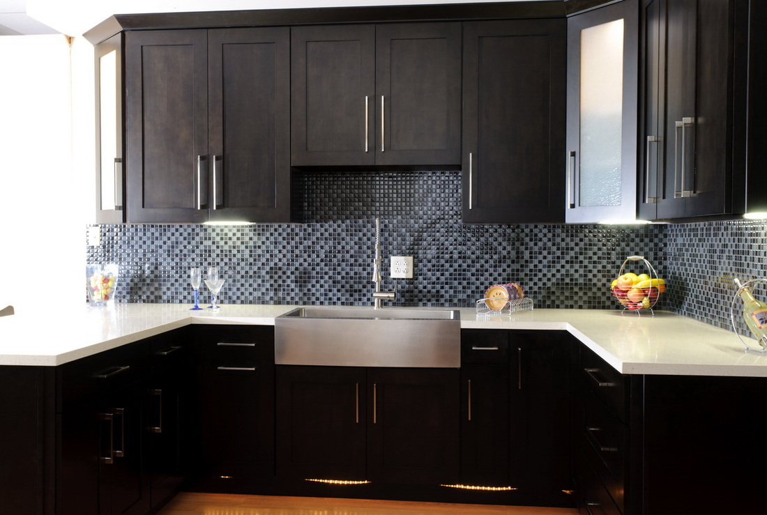 shaker cabinets kitchen beach kitchen cabinets Kitchen cabinet refacing in Laguna Beach