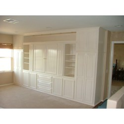 Small Crop Of White Entertainment Center