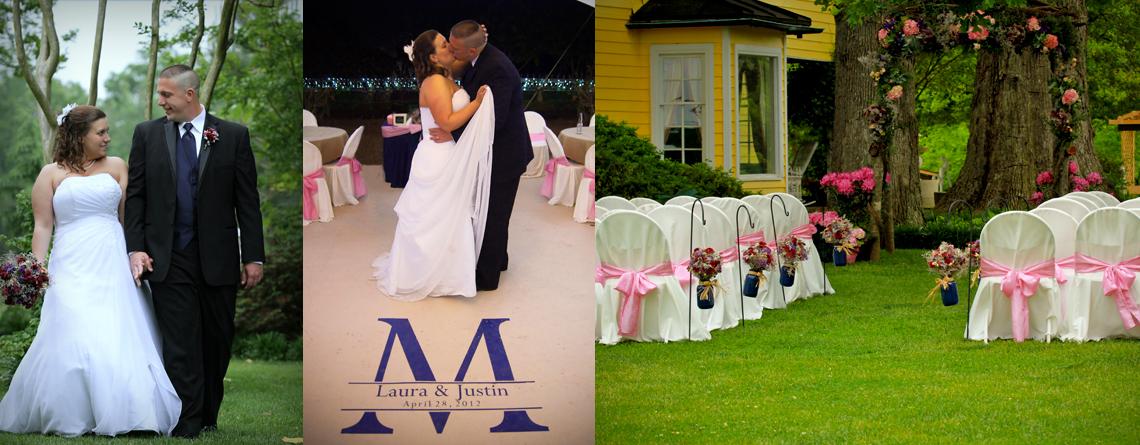 Laura & Justin – April Wedding