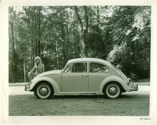 Original '67 Beetle Press Photos