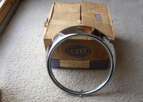 The Hella SB12 Headlight Ring