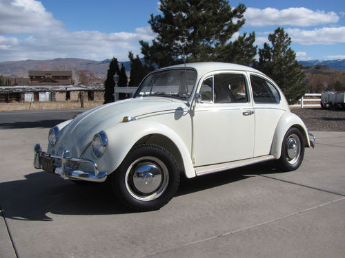 FOR SALE: L282 Lotus White '67 Beetle