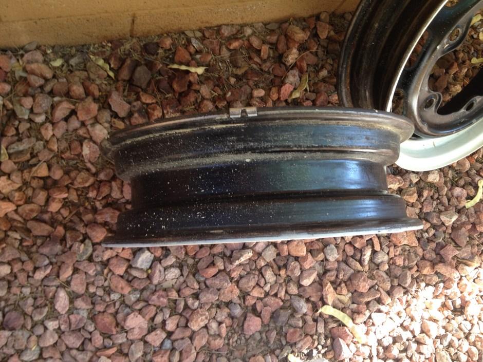 FOR SALE — '67 Beetle German Rims