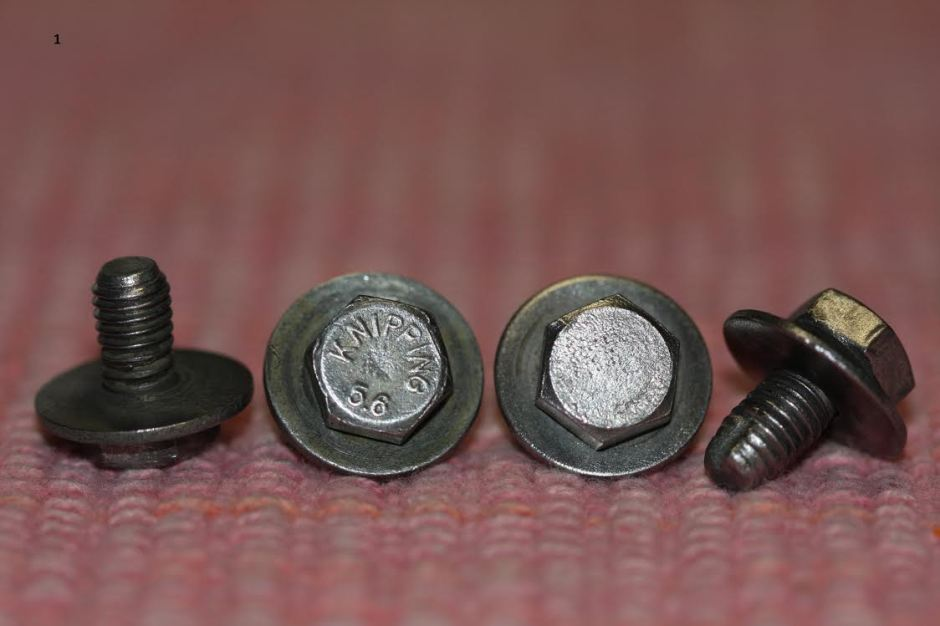 1967 Beetle Engine Component Fasteners