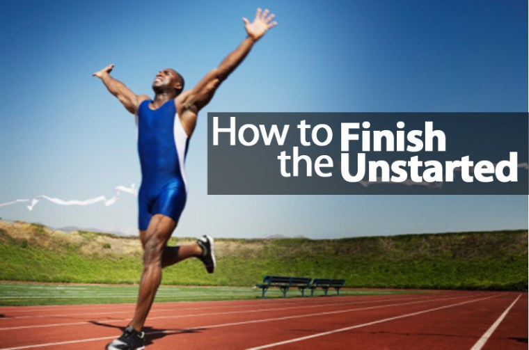Finish the Unstarted - 1BabaSalam.com