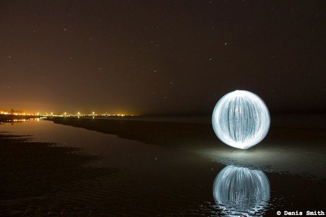 Ball of Light – Denis Smith Photography