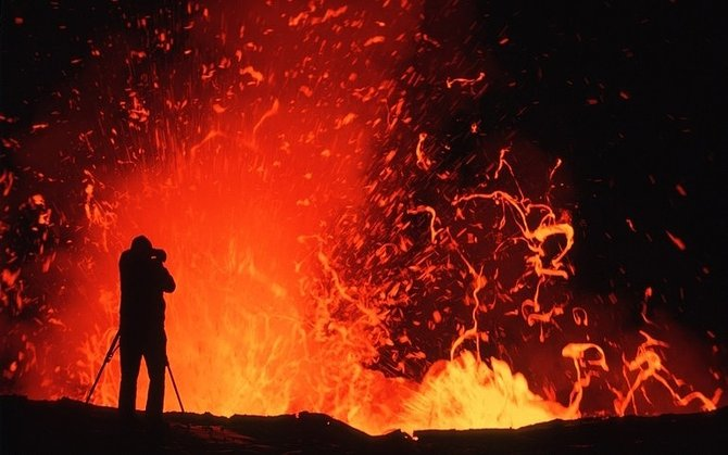 Volcano Photography by G. Brad Lewis