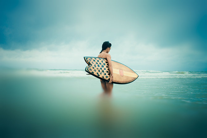 Surfing… Photographer Christopher Wilson